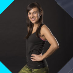Dominika Siedlak, instruktor fitness w klubie fitness latte. Instruktor Zumby