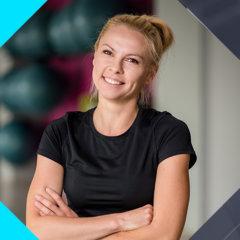 Ewa Moroch Nauczyciel Jogi Wrocław w Fitness Latte Joga Vinyasa Krzyki fitness siłownia