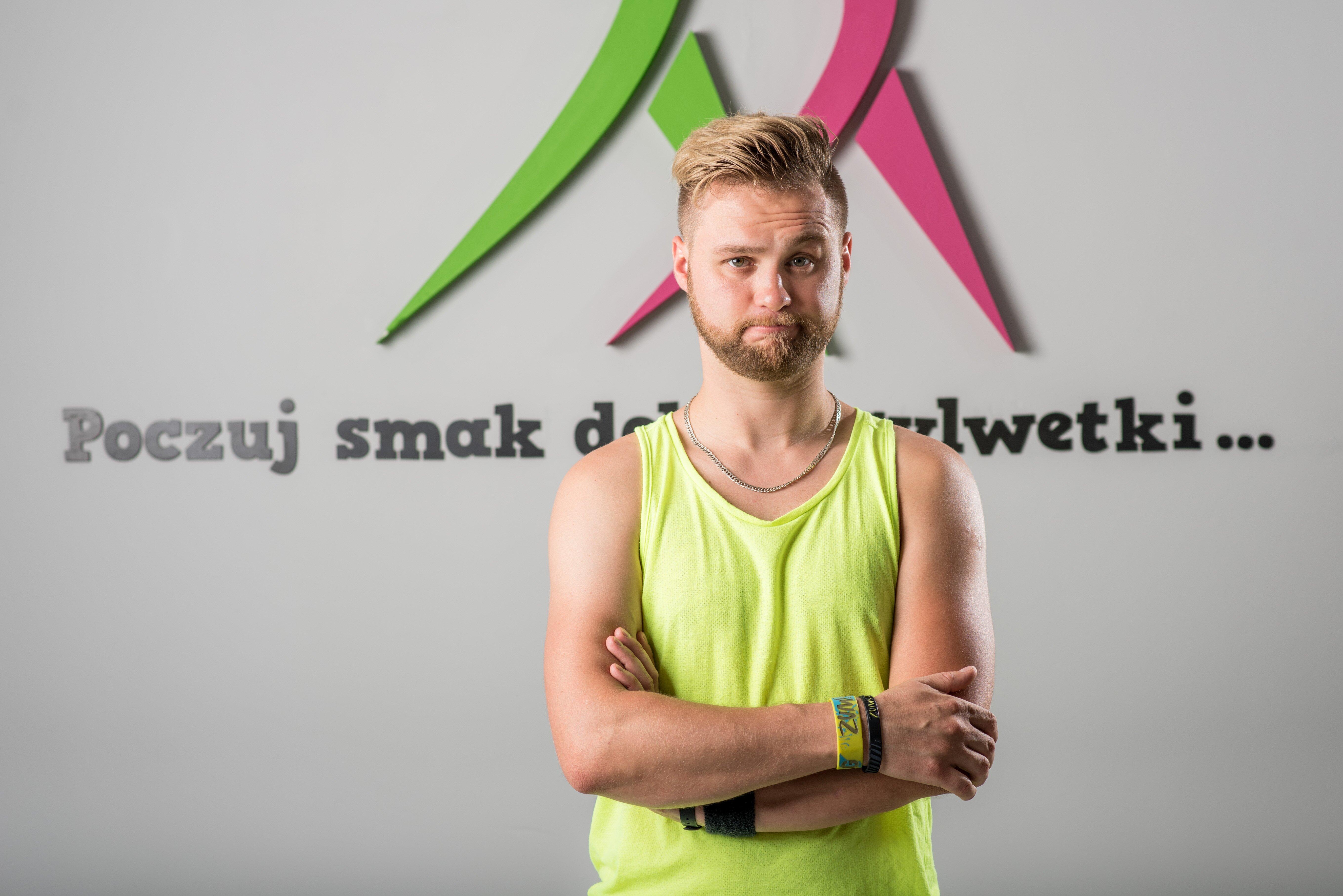 Rafał Gajdzik Zumba Wrocław Fitness Latte krzyki taniec tanio muzyka