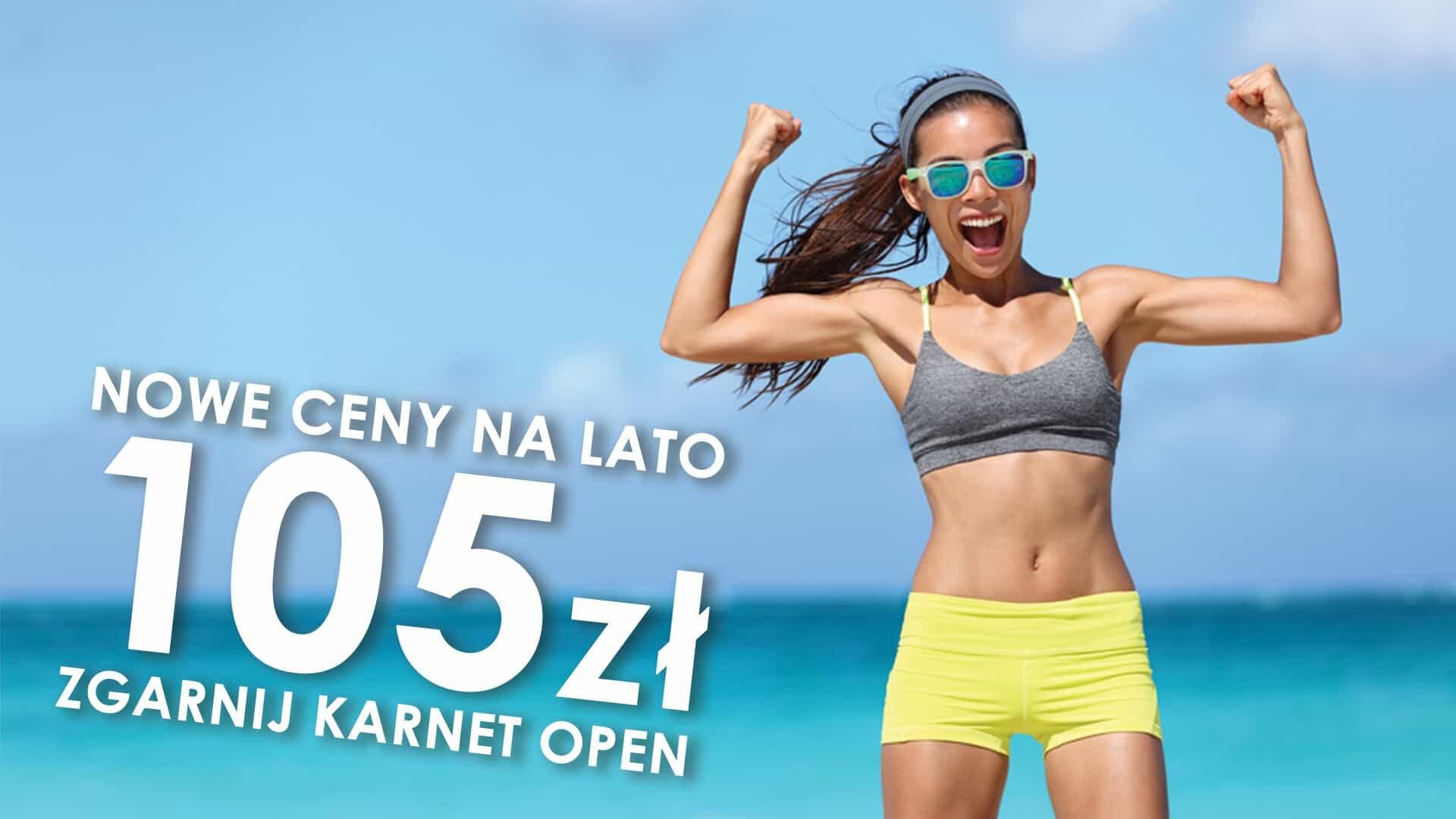 Nowe ceny na lato Wrocław Siłownia Klub Fitness Tanio Fitness Latte Krzyki Przyjaźni
