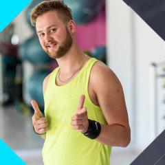 Rafał Gajdzik Zumba Dance Instruktor Fitness Wrocław Fitness Latte Krzyki zajęcia grupowe taneczne