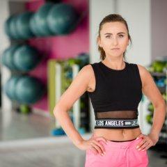 Emilia Sołoniuk Fitness Latte Wrocław Krzyki zajęcia fitness tabata pump step cardio spalanie